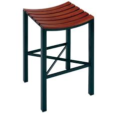 Black Backless Counter Stools Parsons Backless Counter Stool Wood Seat 26 In Seat Height