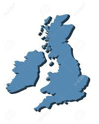 Blank Map Britain by Uk Map 3d Stock Photos Royalty Free Uk Map 3d Images And Pictures