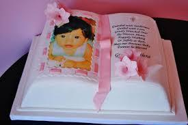 christening and baptism cakes nj open bible custom cake sweet