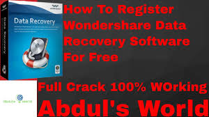 data recovery software full version kickass how to register wondershare data recovery full version for free