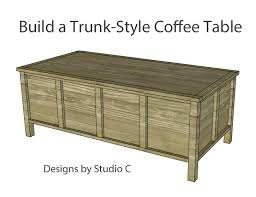 Plans For Wooden Coffee Tables by Combine These Plans With Style Of Horizontal Slat Coffee Table