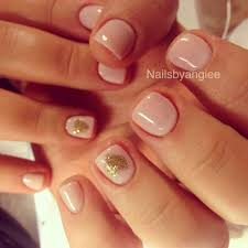 simple and cute gel nail design nails pinterest makeup