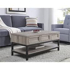 Lift Up Coffee Table Ameriwood Home Barret Lift Up Coffee Table Kitchen