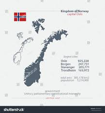 Geographics Business Cards Templates Kingdom Norway Isolated Maps Official Flag Stock Vector 436709911