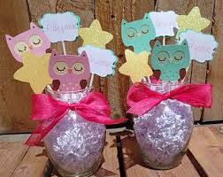 owl centerpieces owl table decorations