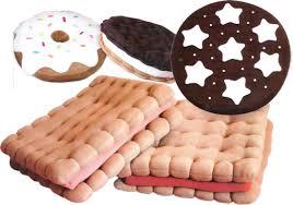 cuscino pan di stelle i golosi biscotti cuscino di carolicrea e il petit beurre cushion