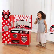 vintage play kitchen red