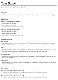 functional resume template download free u0026 premium templates