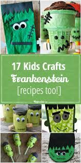 17 frankenstein crafts kids can make recipes too tip junkie