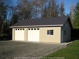 building a 2 car garage garages and shops built by alvord richardson texmo pole buildings