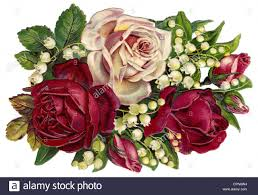 Arrangement Flowers by Kitsch Cards Souvenir Flower Arrangement With Roses Germany
