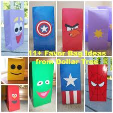 goody bag ideas 10 dollar tree favor bag ideas autry creations