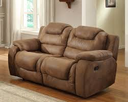 Loveseat Recliner With Console Sofas Center Homelegance Geoffreya Dual Recliner Chocolate