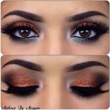eye makeup for wedding 118 best bronze images on hair make up