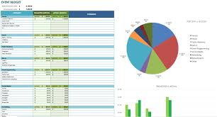 Excel Spreadsheet Development 12 Free Marketing Budget Templates