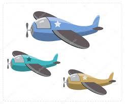imagenes animadas de aviones dibujos animados de aviones militares archivo imágenes vectoriales