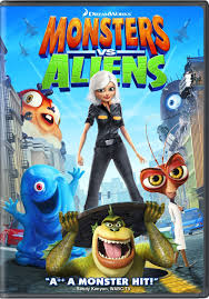 monsters vs aliens dvd cartoons and other animation pinterest