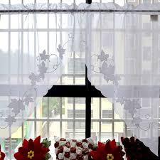 Half Window Curtains Small Coffee Curtain For Kitchen Half Window Valance Curtain