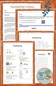 thanksgiving the true story qr code activities