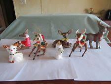 reindeer figurine ebay