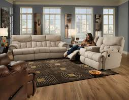 Leather Reclining Sofa Set American Made Reflex Leather Lay Flat Reclining Sofa Set Sofa