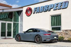 porsche graphite blue in the shop porsche 991 2 carrera 4s fabspeed motorsport