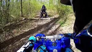 yamaha blaster 200 vs yamaha raptor 350 trail ride gopro hd