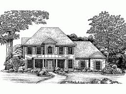 eplans second empire house plan early american design 2630