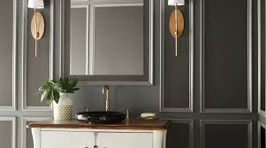 appealing bathroom paint colors behr with gray tile sherwin