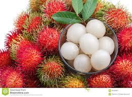 lychee fruit inside rumbutan fruit ரம ப ட ட ன பழங கள lingesh