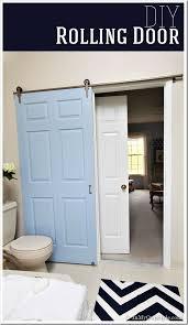 Design My Bathroom by Bathroom Gets A Makeover Using Rolling Door Hardware