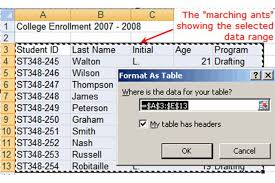 How To Create A Lookup Table In Excel How To Create A Database In Excel