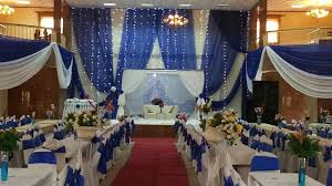 decor blue wedding reception decorations centerpieces mudroom