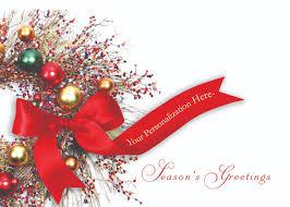 season s greetings wreath card cardsforcauses
