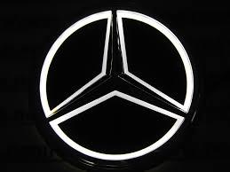 lexus logo earrings 2015 new mercedes benz car logo light for s350 s300l rear logo