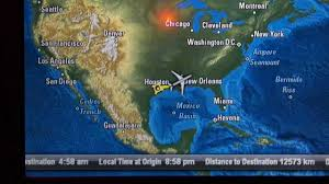 Doha Map Hd In Flight Map Qatar Airways 777 200lr Business Class Avod Touch