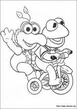 muppet babies coloring pages coloring book