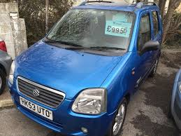 suzuki wagon r 5 dr hatchback metallic blue low mileage open 7
