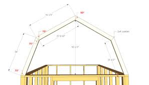 gambrel roof plans corglife