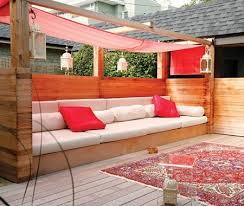 Diy Outdoor Bench Seat Plans by 12 Outdoor Seating Ideas Homes Com