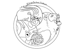 where the wild things are printables kids coloring