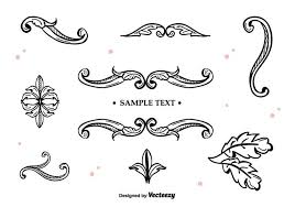 vector ornaments 6060 free downloads
