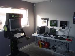 my home office computer repair stations and my man cave looks