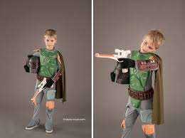 Boba Fett Halloween Costumes Star Wars Themed Family Halloween Costume Photos