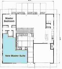 Master Suites Floor Plans Showcase For A Green Eichler Remodel