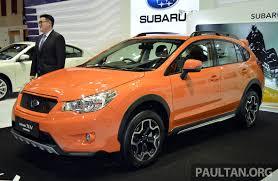 orange subaru crosstrek subaru xv crosstrek u2013 55 unit limited edition rm162k image 210086