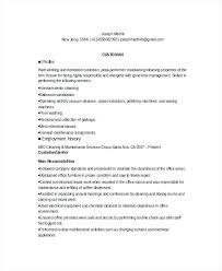 custodian sle resume custodian resume sle 14 objective