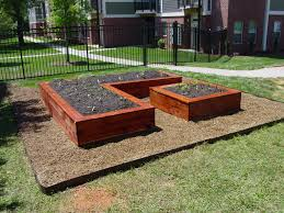 Building Raised Beds Building A Raised Garden Bed With Bricks Home Outdoor Decoration