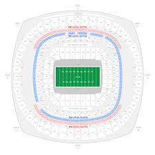 New Orleans Convention Center Map by New Orleans Saints Suite Rentals Mercedes Benz Superdome Suite