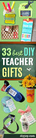 Halloween Gifts For Teachers by 33 Best Diy Teacher Gifts Diy Joy